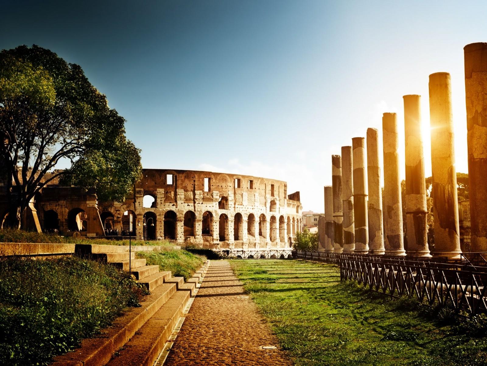 Coliseu e Palatino, Roma