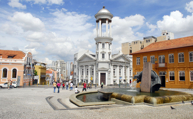 Centro histórico. Curitiba